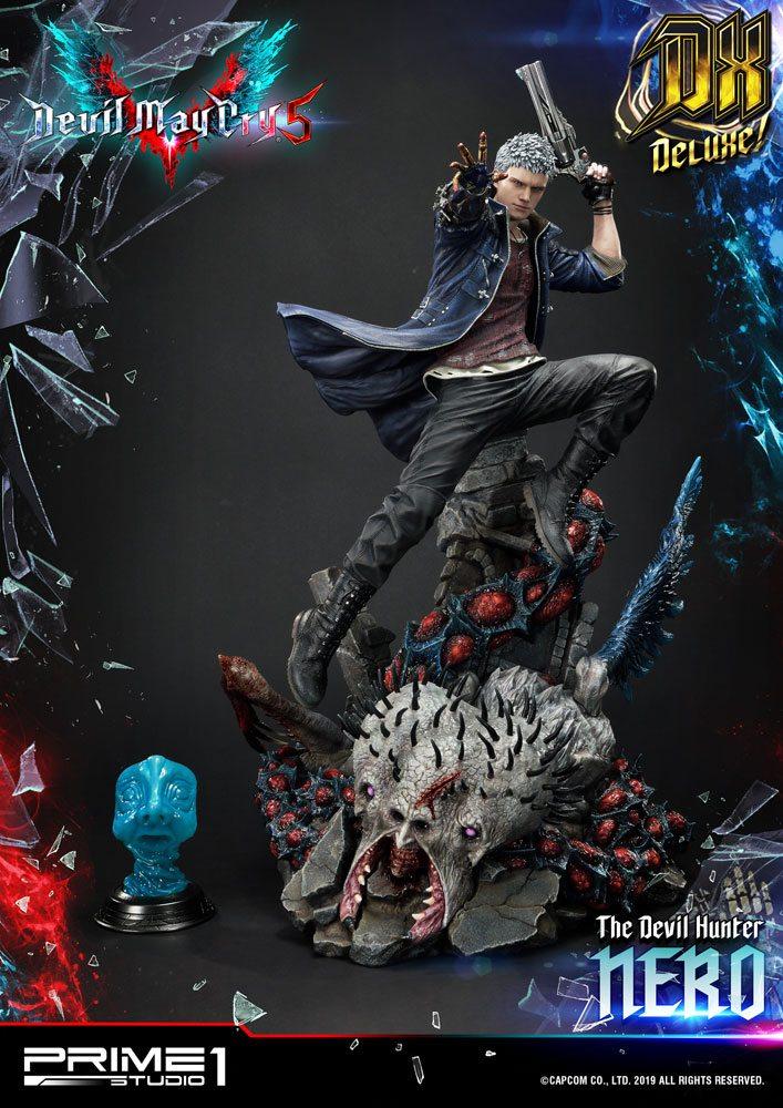 Devil May Cry 5 Statue Nero Deluxe Ver. 70 cm