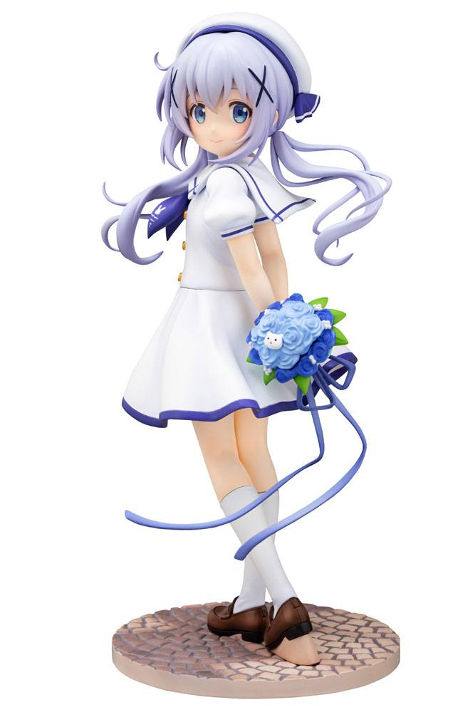 Is the Order a Rabbit PVC Statue 1/7 Chino (Summer Uniform) 21 cm