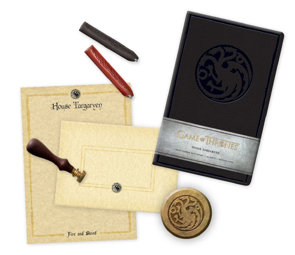 Game of Thrones Deluxe Stationery Set House Targaryen