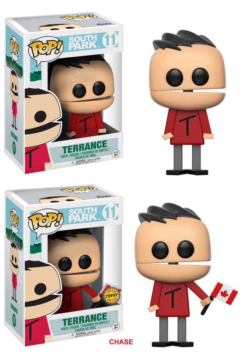 South Park POP! TV Vinyl Figures Terrence 9 cm Assortment (6)