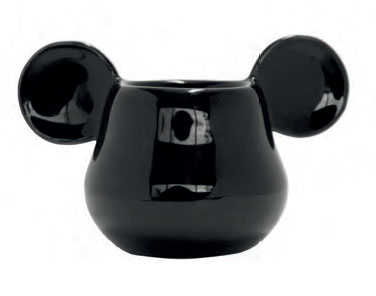 Mickey Mouse 3D Eggcup Black