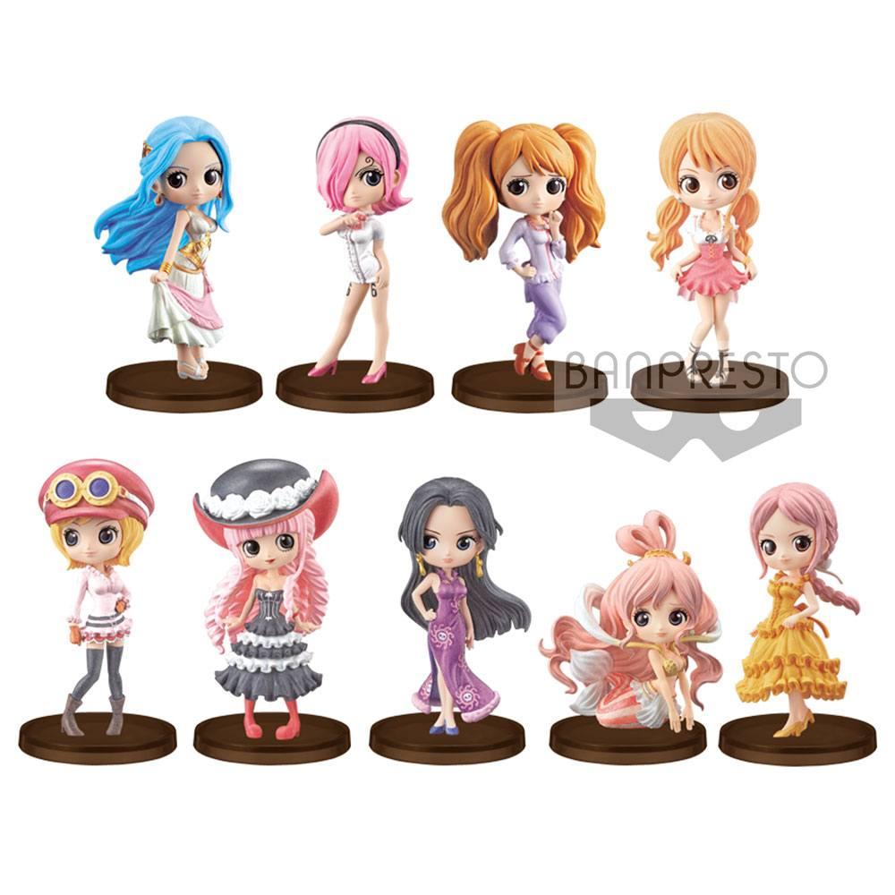 One Piece Q Posket Petit Figures 7 cm Assortment Girls Festival (28)