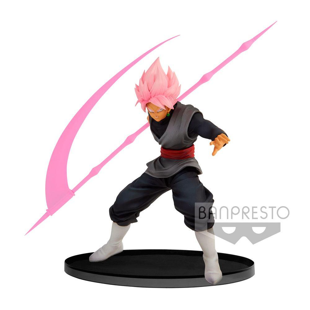 Dragon Ball Super BWFC PVC Statue Super Saiyan Rose Goku Black Ver. A 14 cm
