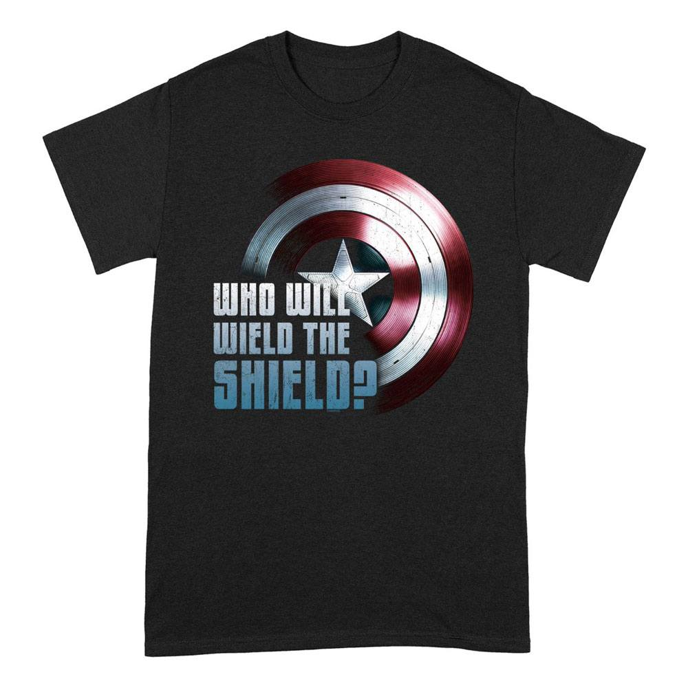 The Falcon and the Winter Soldier T-Shirt Wield The Shield Size M