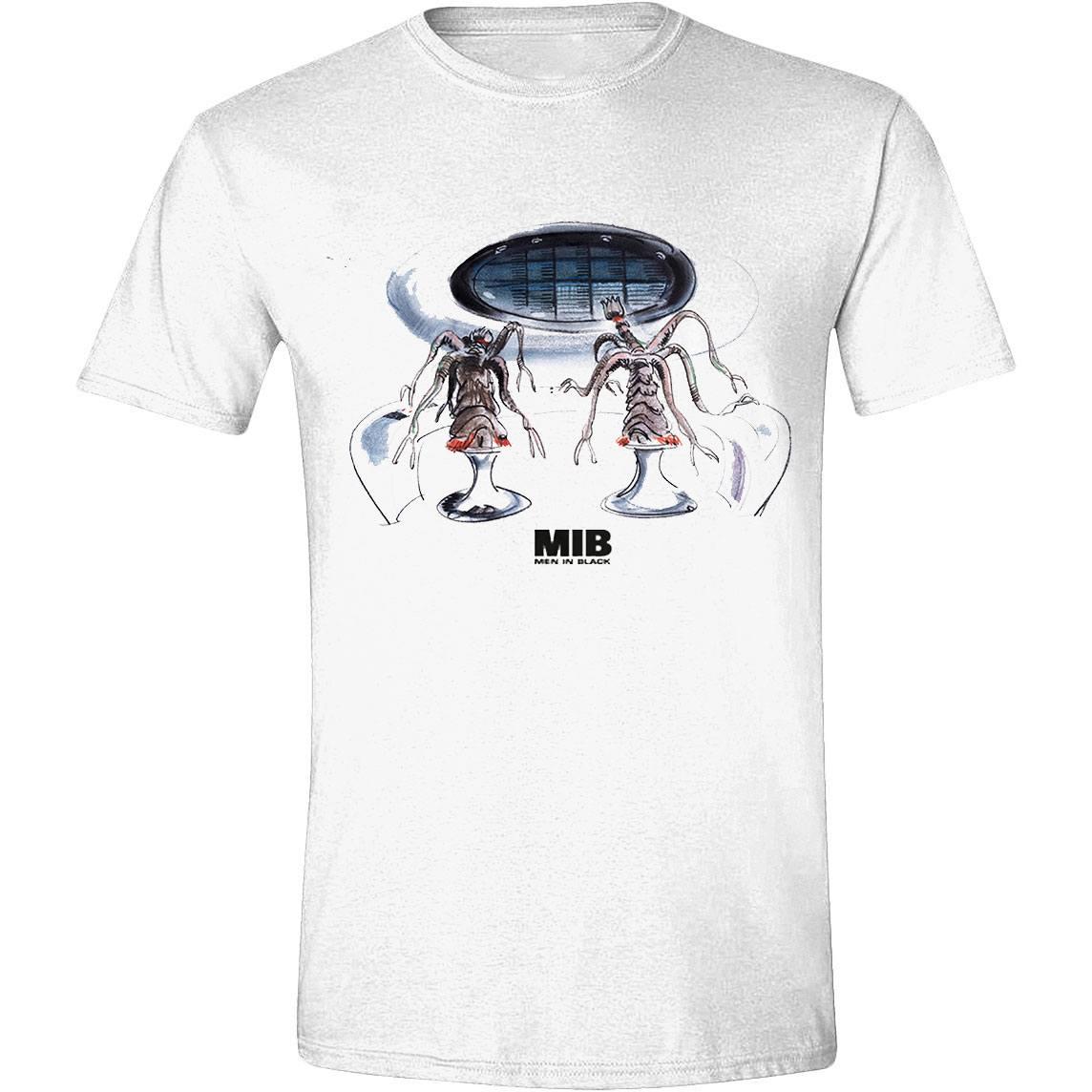Men in Black T-Shirt Alien Tech Size L