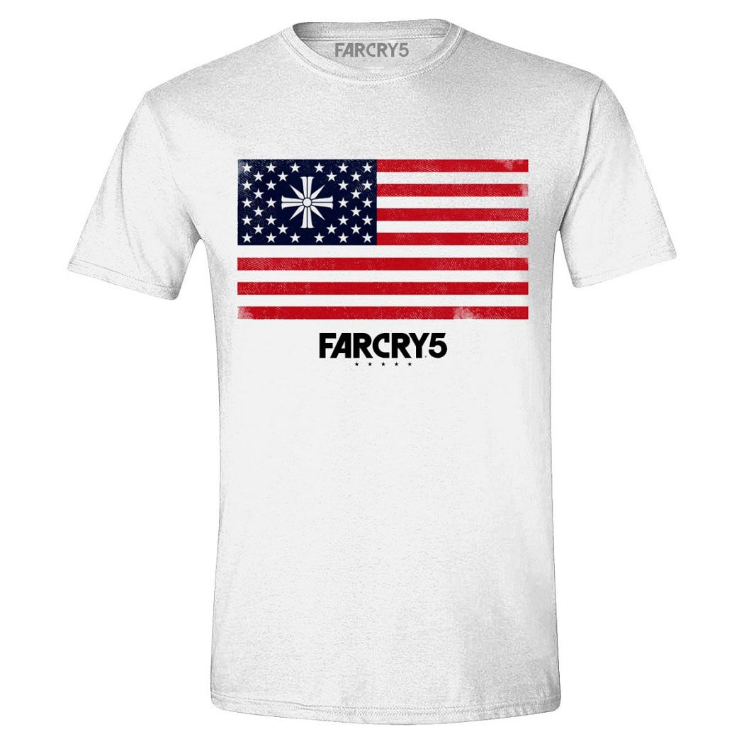 Far Cry 5 T-Shirt Cult Flag Size M