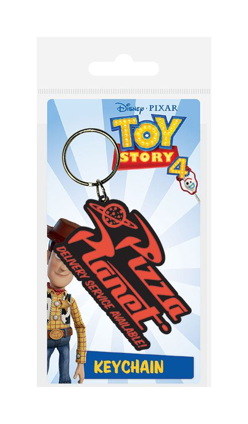 Toy Story 4 Rubber Keychain Pizza Planet 6 cm