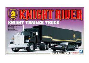 Knight Rider Plastic Modelkit 1/24 Trailer Truck