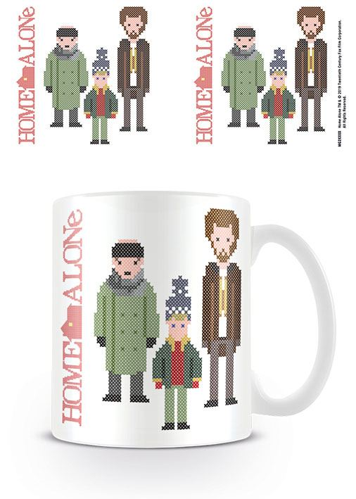 Home Alone Mug Cross Stitch Characters