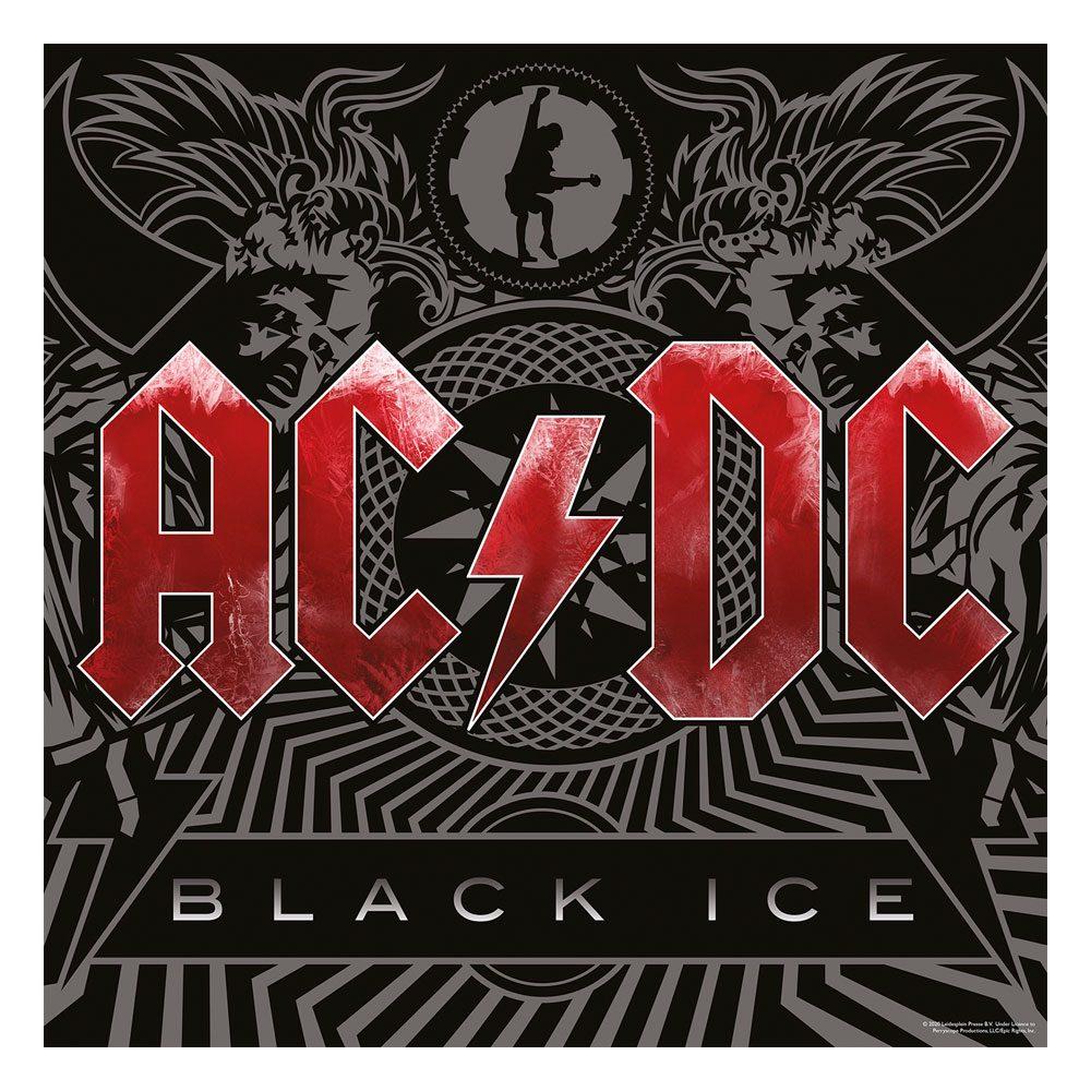 AC/DC Rock Saws Jigsaw Puzzle Black Ice (500 pieces)