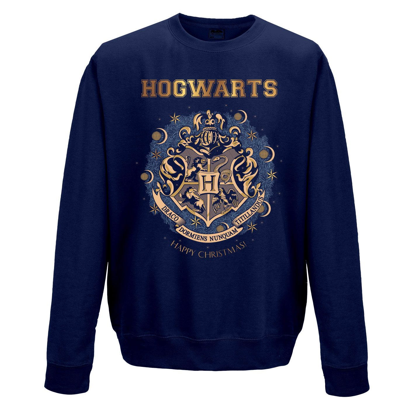 Harry Potter Sweatshirt Christmas At Hogwarts Size M