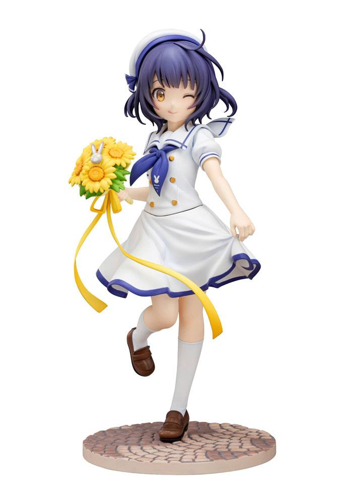 Is the Order a Rabbit PVC Statue 1/7 Maya (Summer Uniform) 21 cm