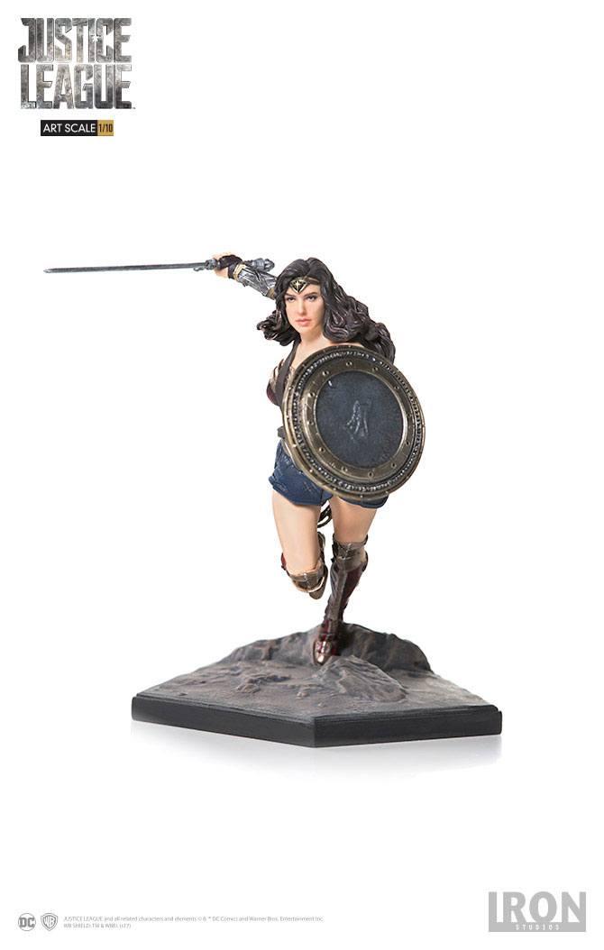 Justice League Art Scale Statue 1/10 Wonder Woman 18 cm