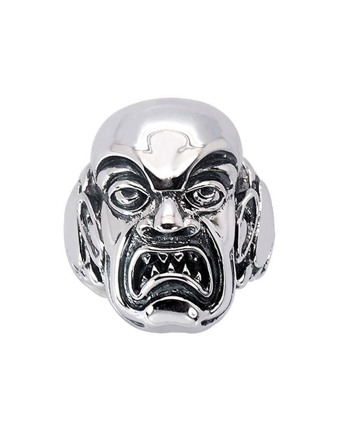 Rob Zombie Ring Phantom Creep (Sterling Silver) Size 09