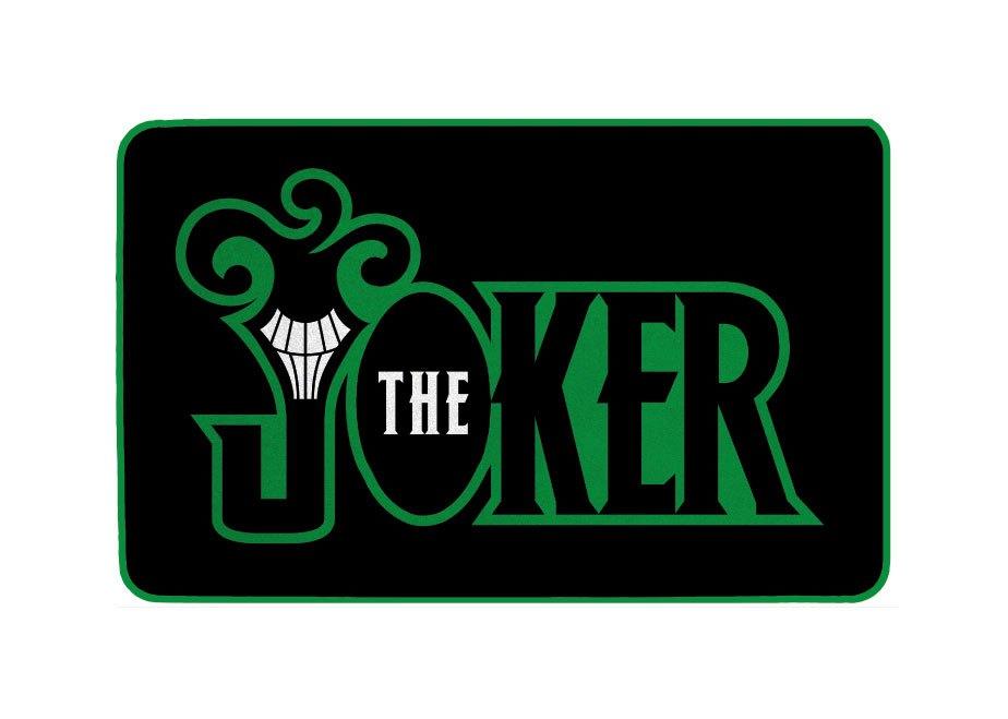DC Comics Carpet The Joker Logo 80 cm