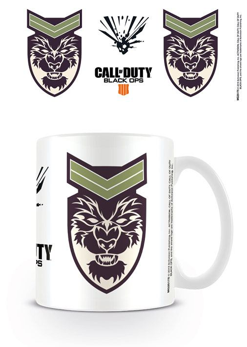 Call of Duty Black Ops 4 Mug Battery Symbol