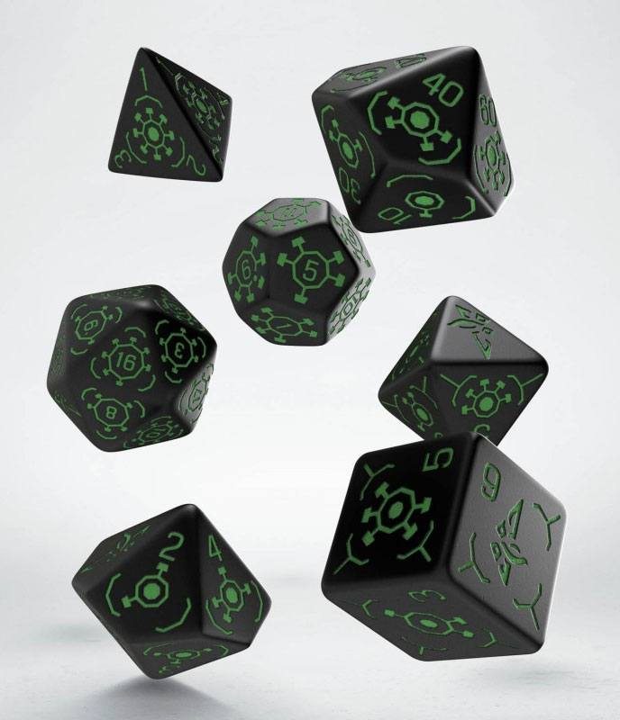 Ingress Dice Set Enlightened (7)