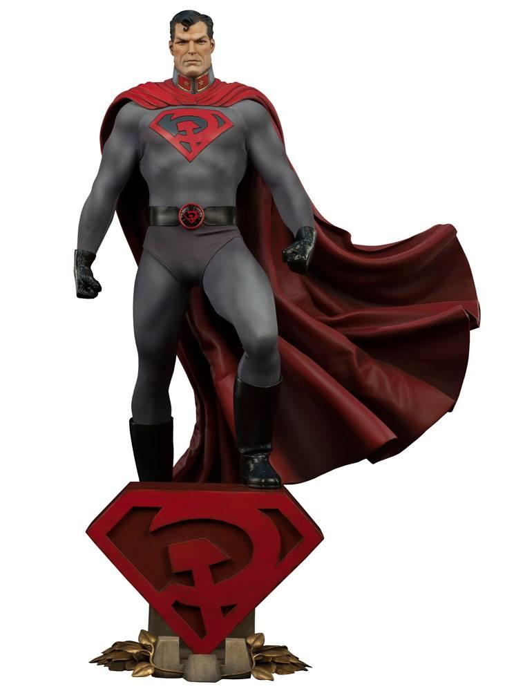 DC Comics Premium Format Figure 1/4 Superman Red Son 64 cm --- DAMAGED PACKAGING