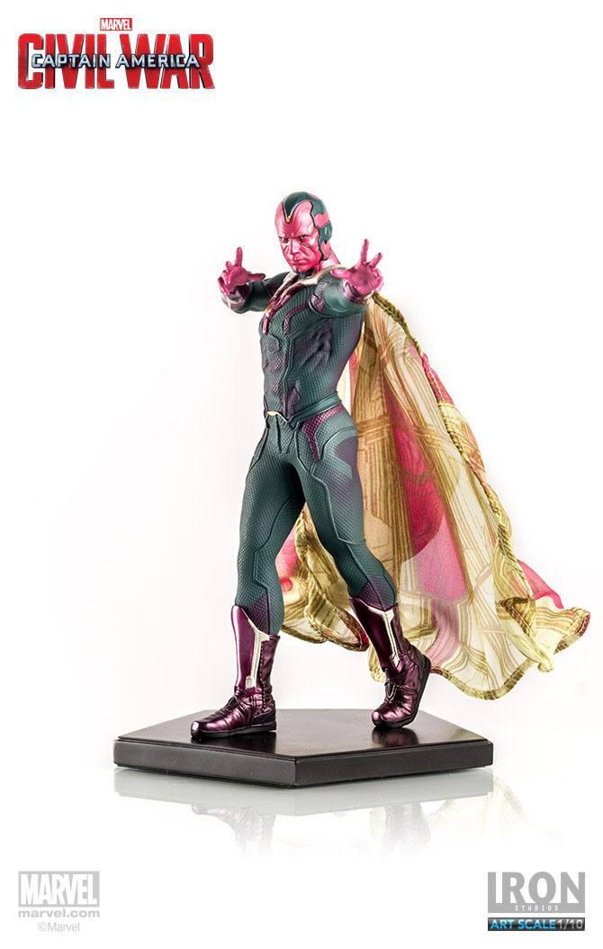 Captain America Civil War Statue 1/10 Vision 20 cm