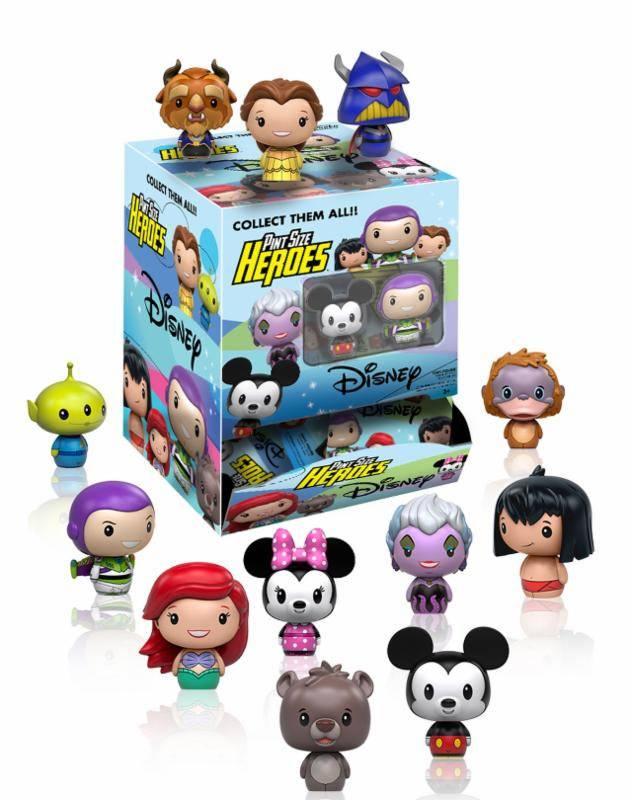 Disney Pint Size Heroes Mini Figures 6 cm Display Variant Mix (24)