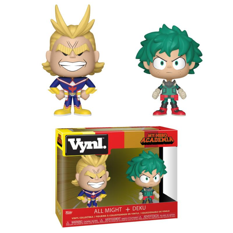 My Hero Academia VYNL Vinyl Figures 2-Pack All Might & Deku 10 cm