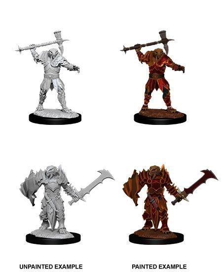 D&D Nolzur's Marvelous Miniatures Unpainted Miniatures Male Dragonborn Paladin Case (6)