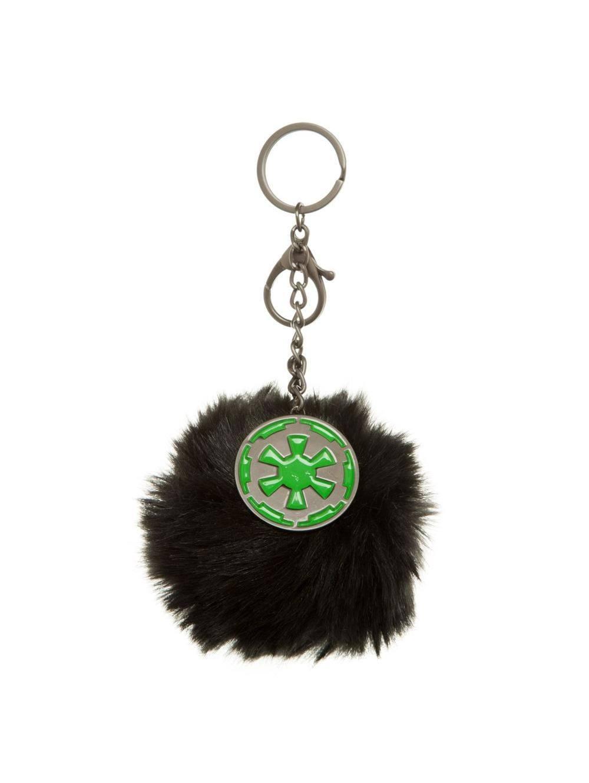 Star Wars Rogue One Plush Handbag Charm Empire Furry Pom