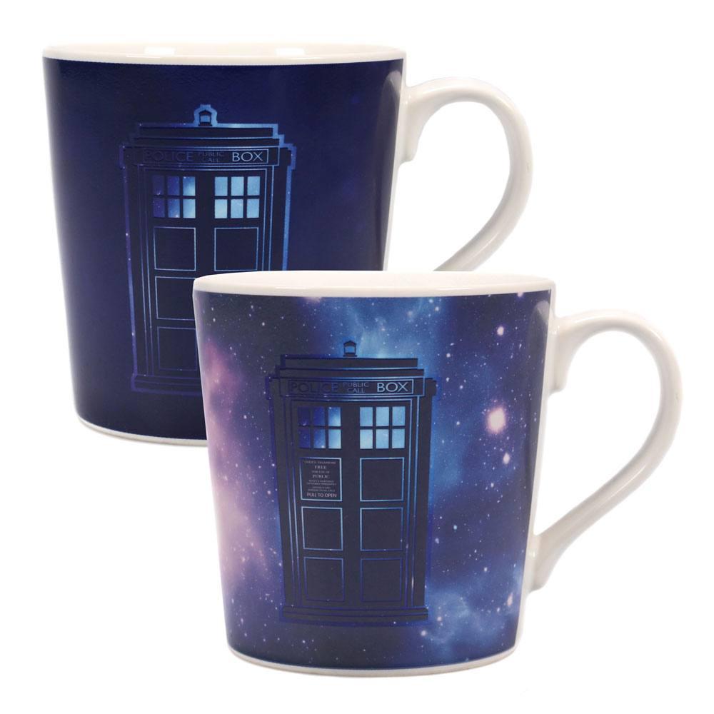 Doctor Who Heat Change Mug Galaxy