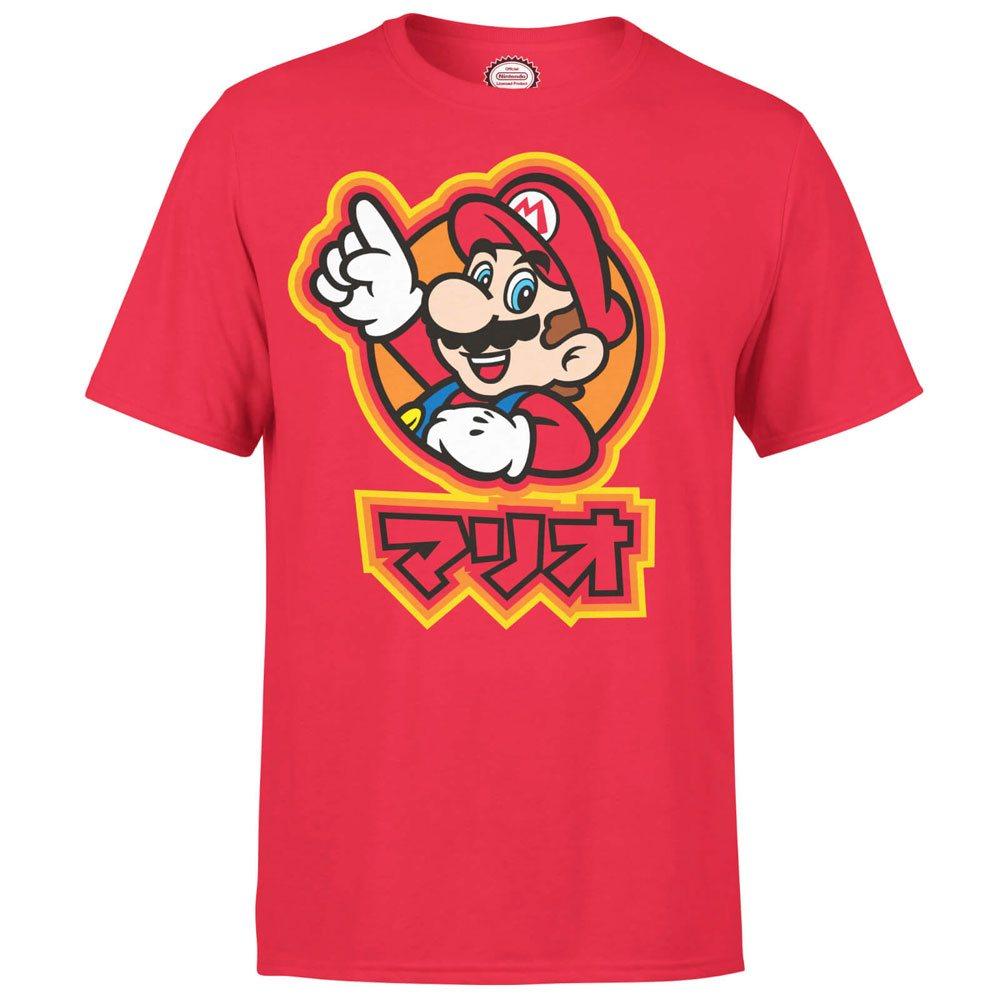 Nintendo T-Shirt Mario Kanji Size L