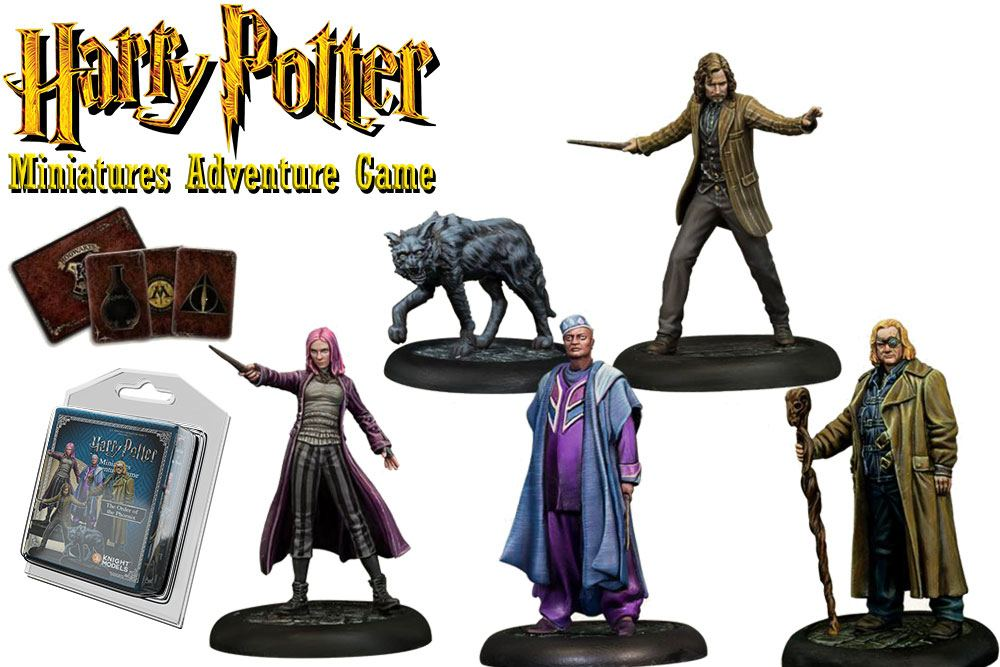 Harry Potter Miniatures 35 mm 5-pack Order of the Phoenix *English Version*