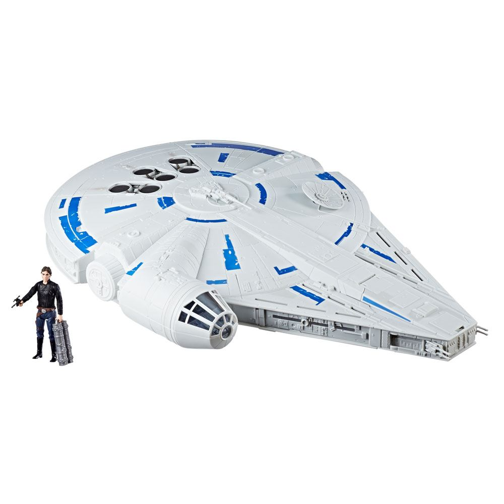 Star Wars Solo Force Link 2.0 Vehicle with Figure 2018 Kessel Run Millennium Falcon