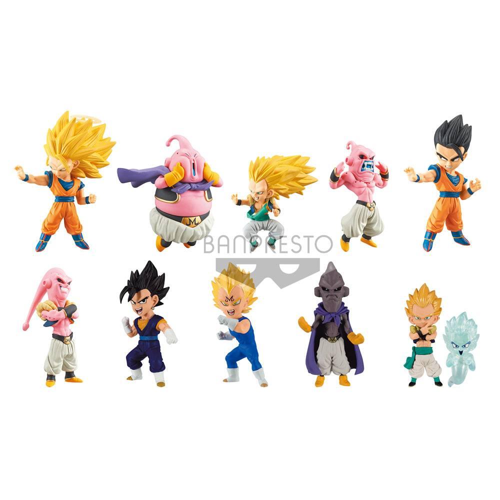 Dragonball Super WCF ChiBi Figures 7 cm Assortment Buu Saga (9)