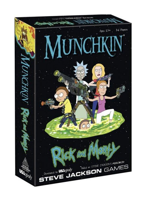 Munchkin Card Game Rick and Morty *English Version*