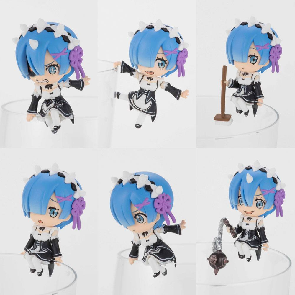 Re:Zero -Starting Life in Another World- Putitto Series Trading Figure 6 cm Assortment Rem Ver. (8)