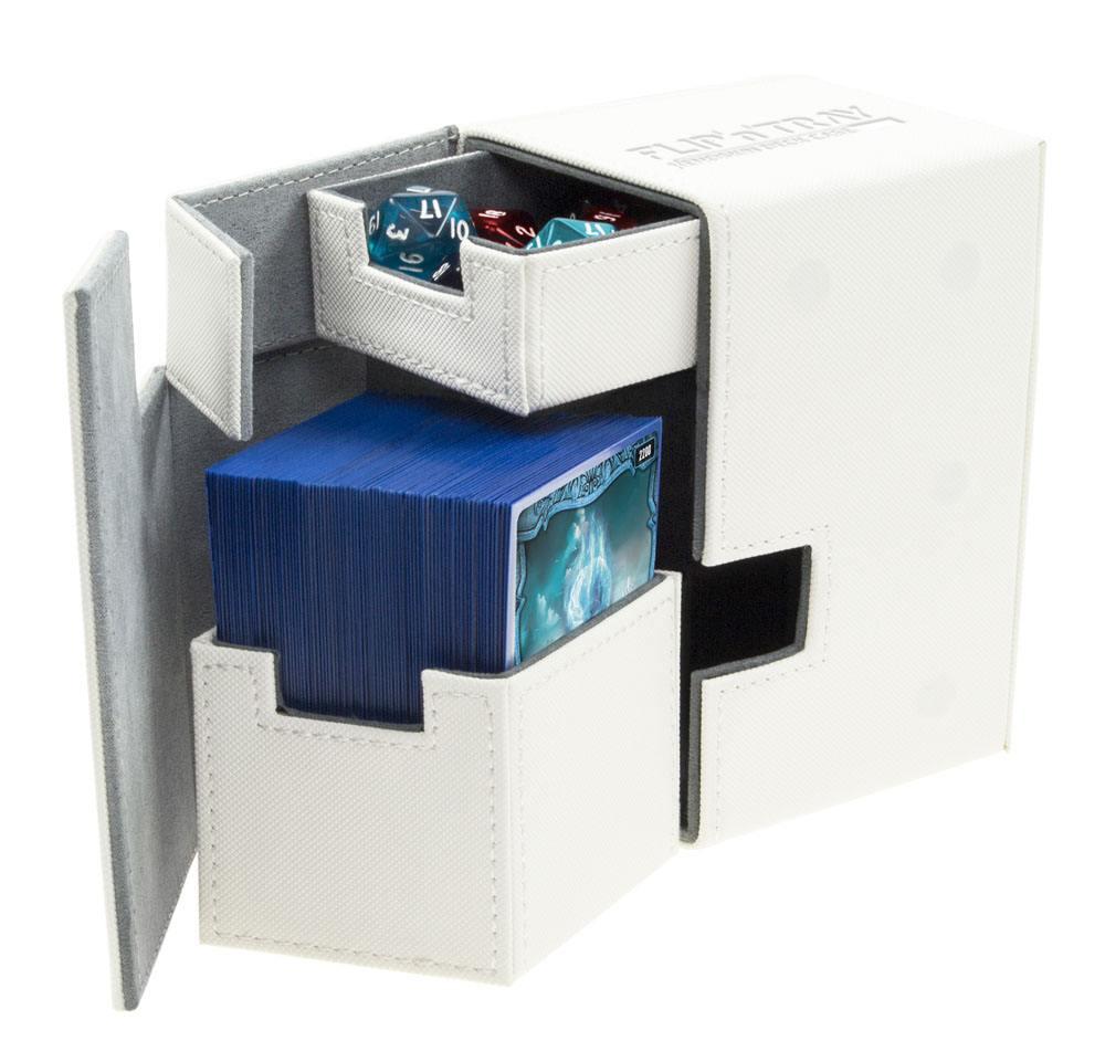 Ultimate Guard Flip´n´Tray  Deck Case 100+ Standard Size XenoSkin White