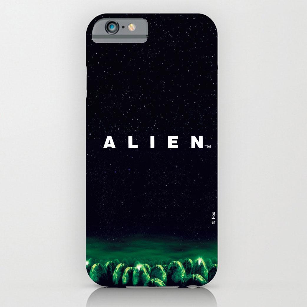 Alien iPhone 4 Case Logo