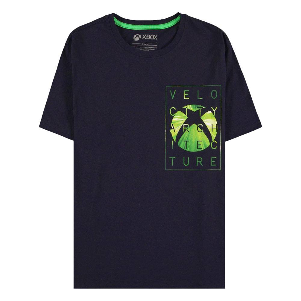 Microsoft Xbox T-Shirt Velo City Size L