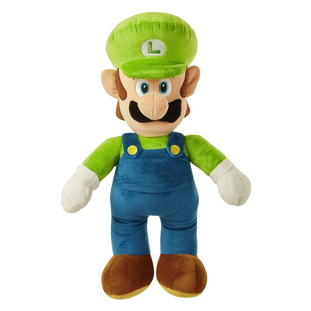 World of Nintendo Jumbo Plush Figure Luigi 50 cm
