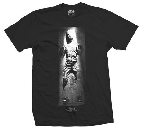Star Wars T-Shirt Han In Carbonite Size M