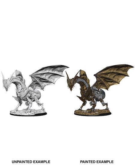 Pathfinder Battles Deep Cuts Unpainted Miniature Clockwork Dragon Case (6)