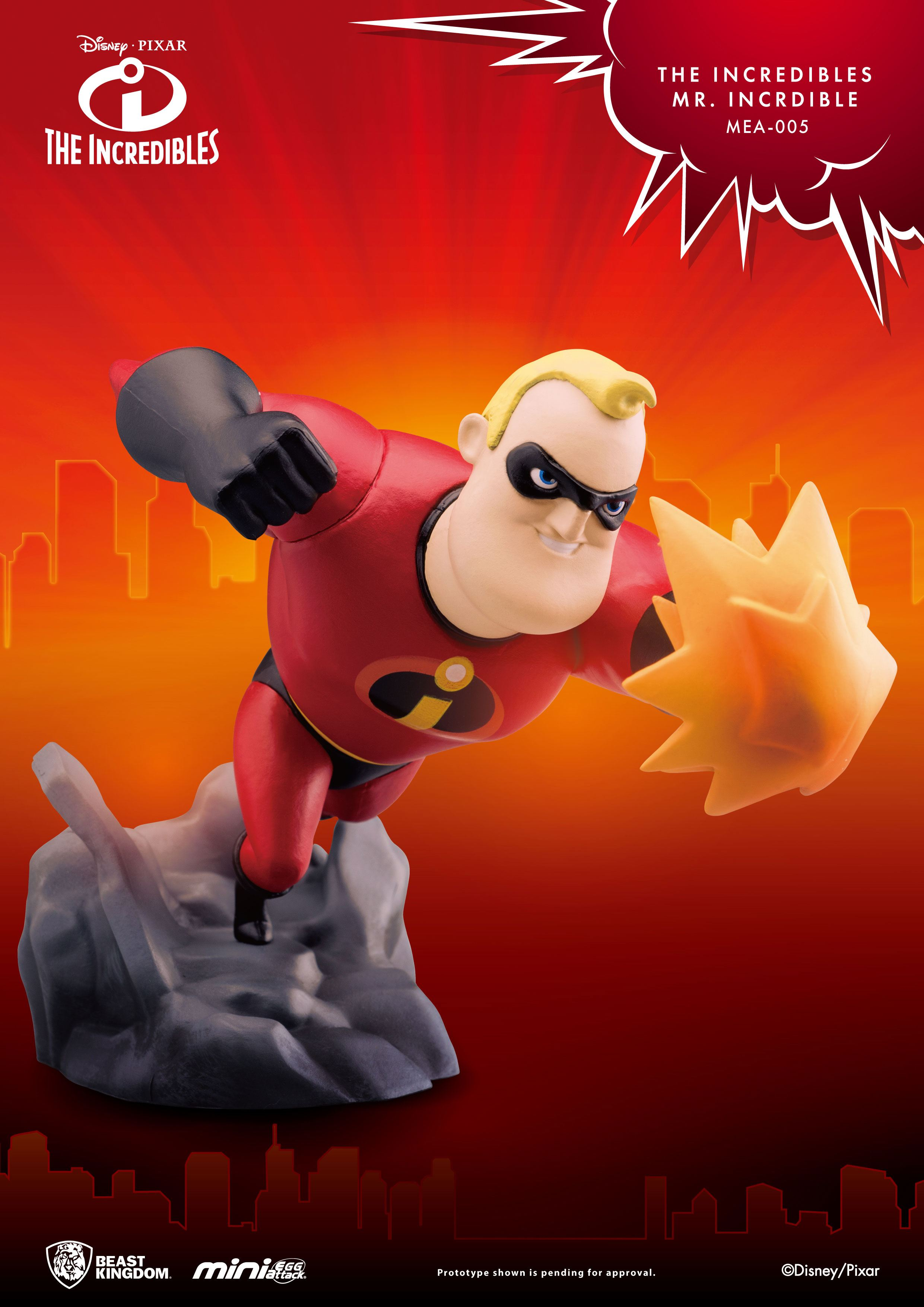 The Incredibles Mini Egg Attack Figure Mr. Incredible 14 cm