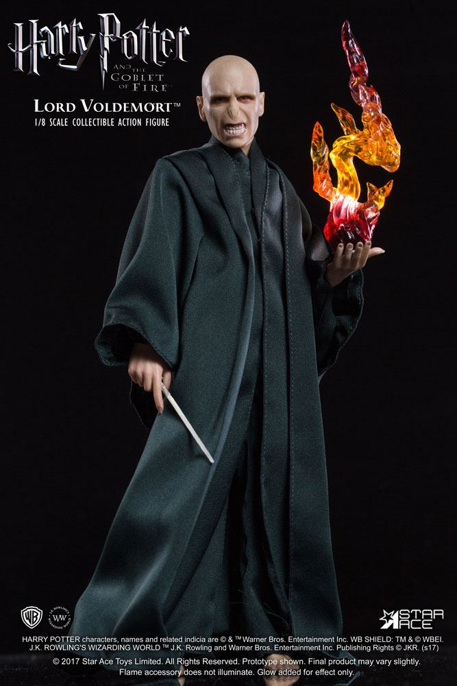 Harry Potter Real Master Series Action Figure 1/8 Lord Voldemort Flash Ver. 23 cm