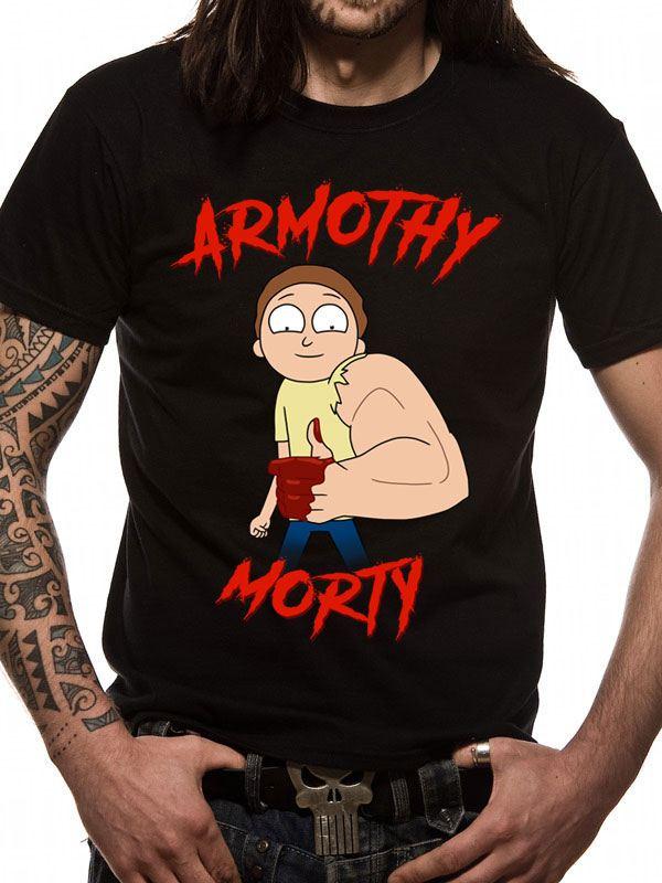 Rick & Morty T-Shirt Armothy Morty Size L