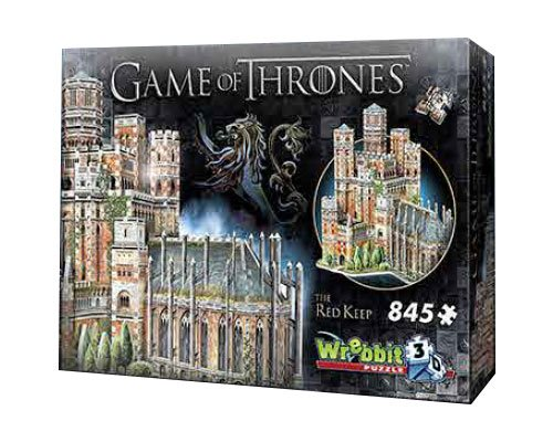 Game of Thrones 3D Puzzle The Red Keep --- DAMAGED PACKAGING