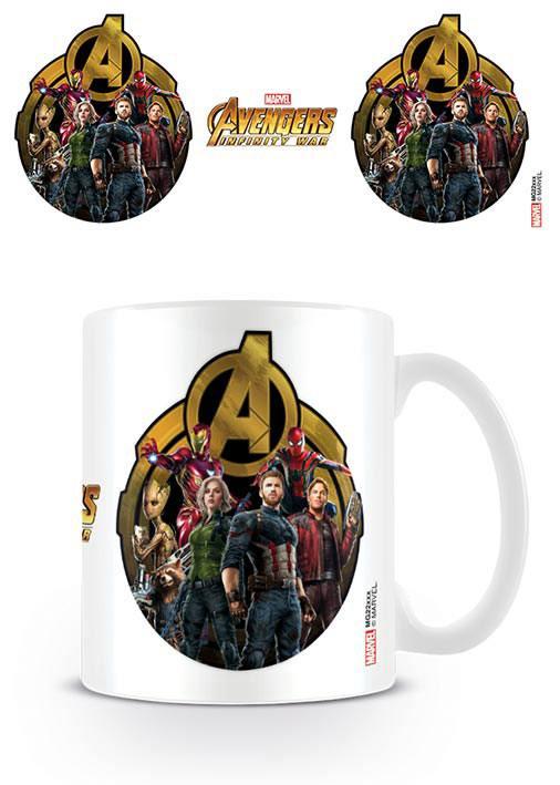 Avengers Infinity War Mug Icon Of Heroes