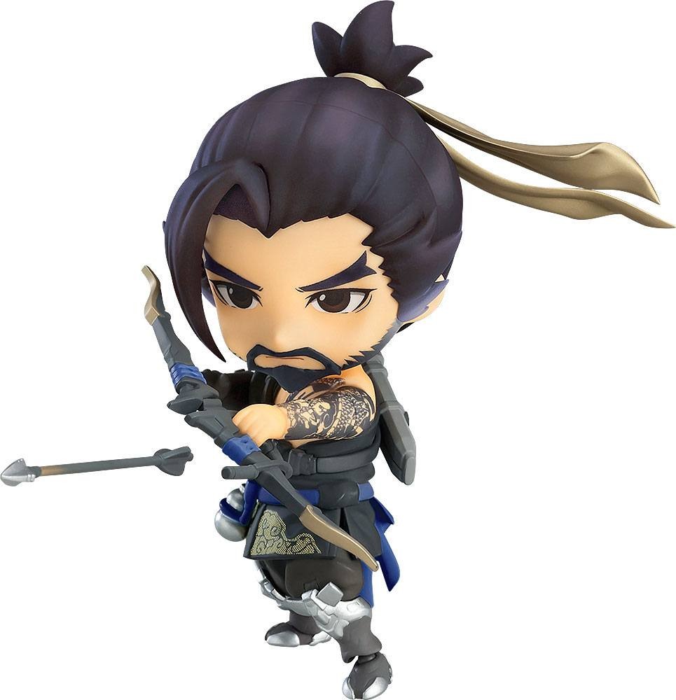 Overwatch Nendoroid Action Figure Hanzo Classic Skin Edition 10 cm