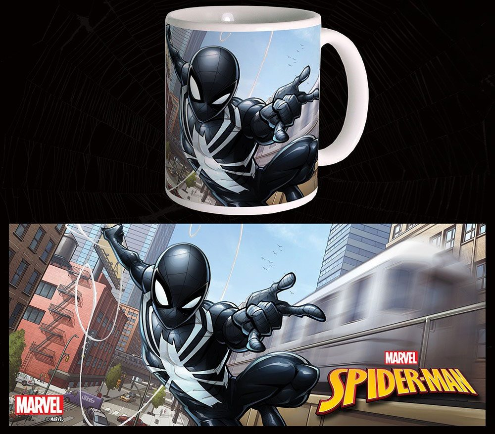 Marvel Comics Mug Black Suit Spider-Man