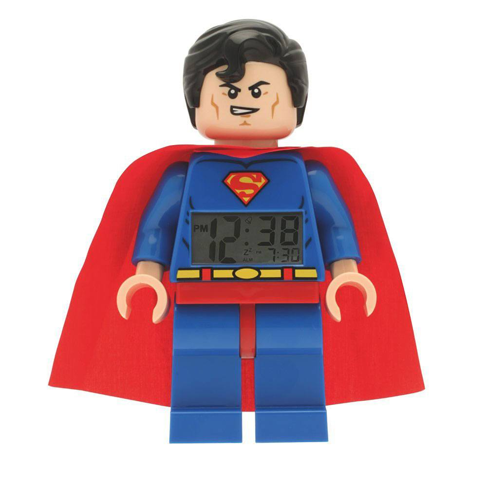 Lego DC Comics Super Heroes Alarm Clock Superman