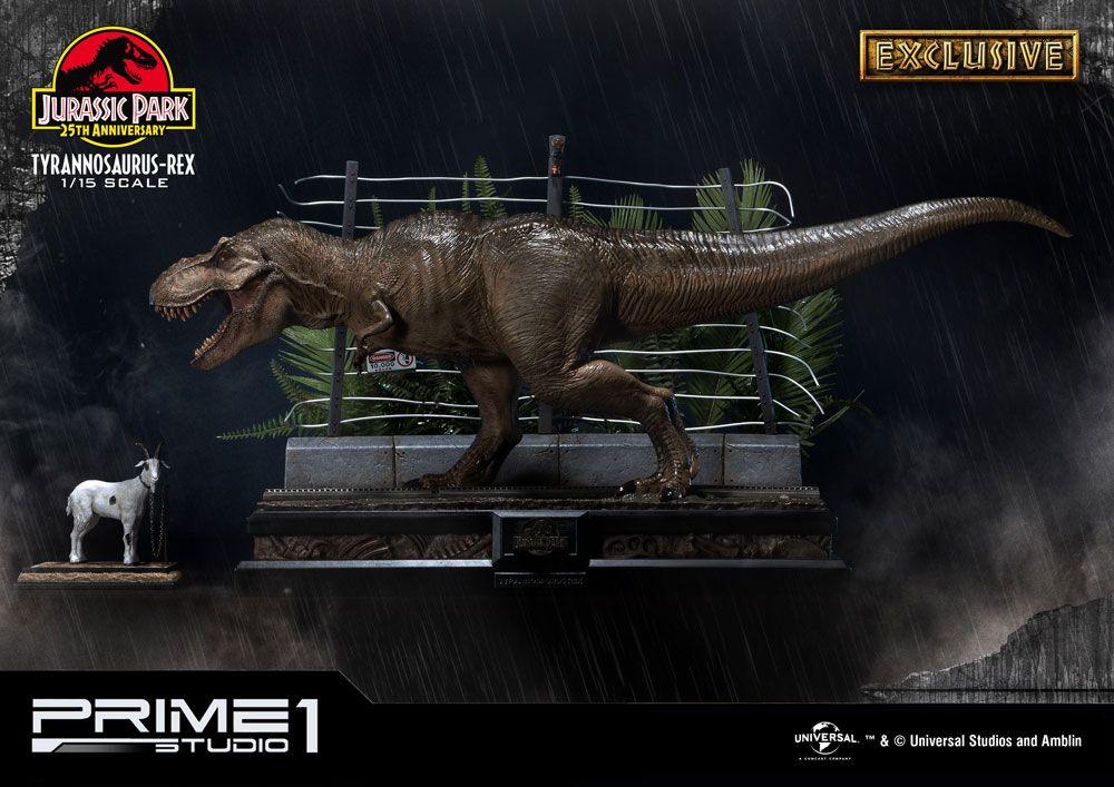 Jurassic Park Statue 1/15 T-Rex & T-Rex Exclusive 43 cm Assortment (3)
