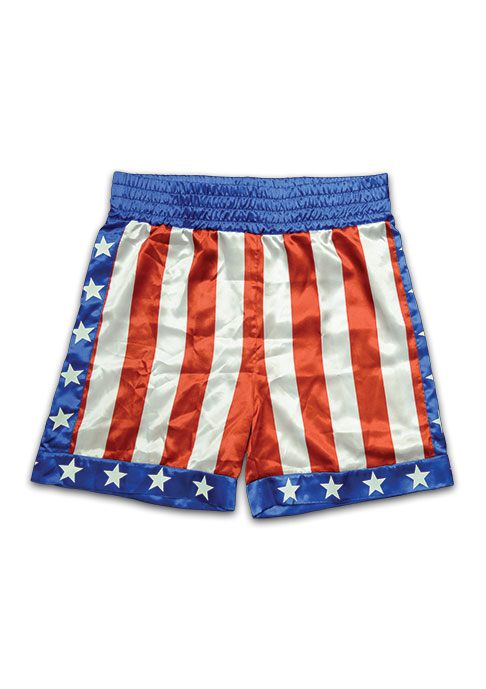 Rocky Boxing Trunks Apollo Creed